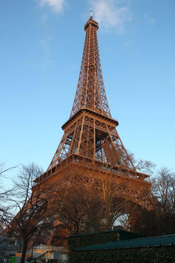 Eiffel Tower - Paris spring