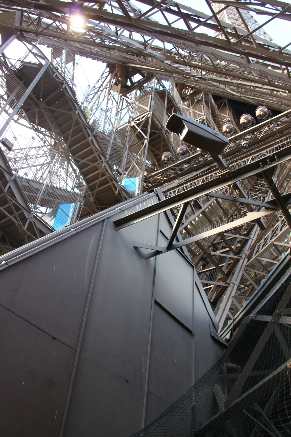 The eiffel tower during day and night my incredible for Stair tower