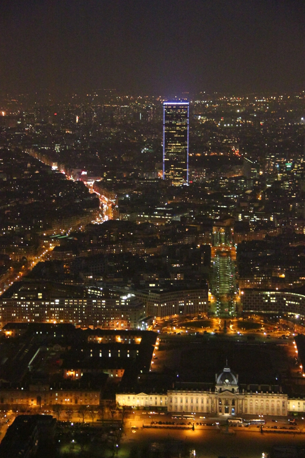 Eiffel Tower - Tour Montparnasse