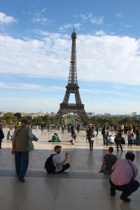 Eiffel Tower - day