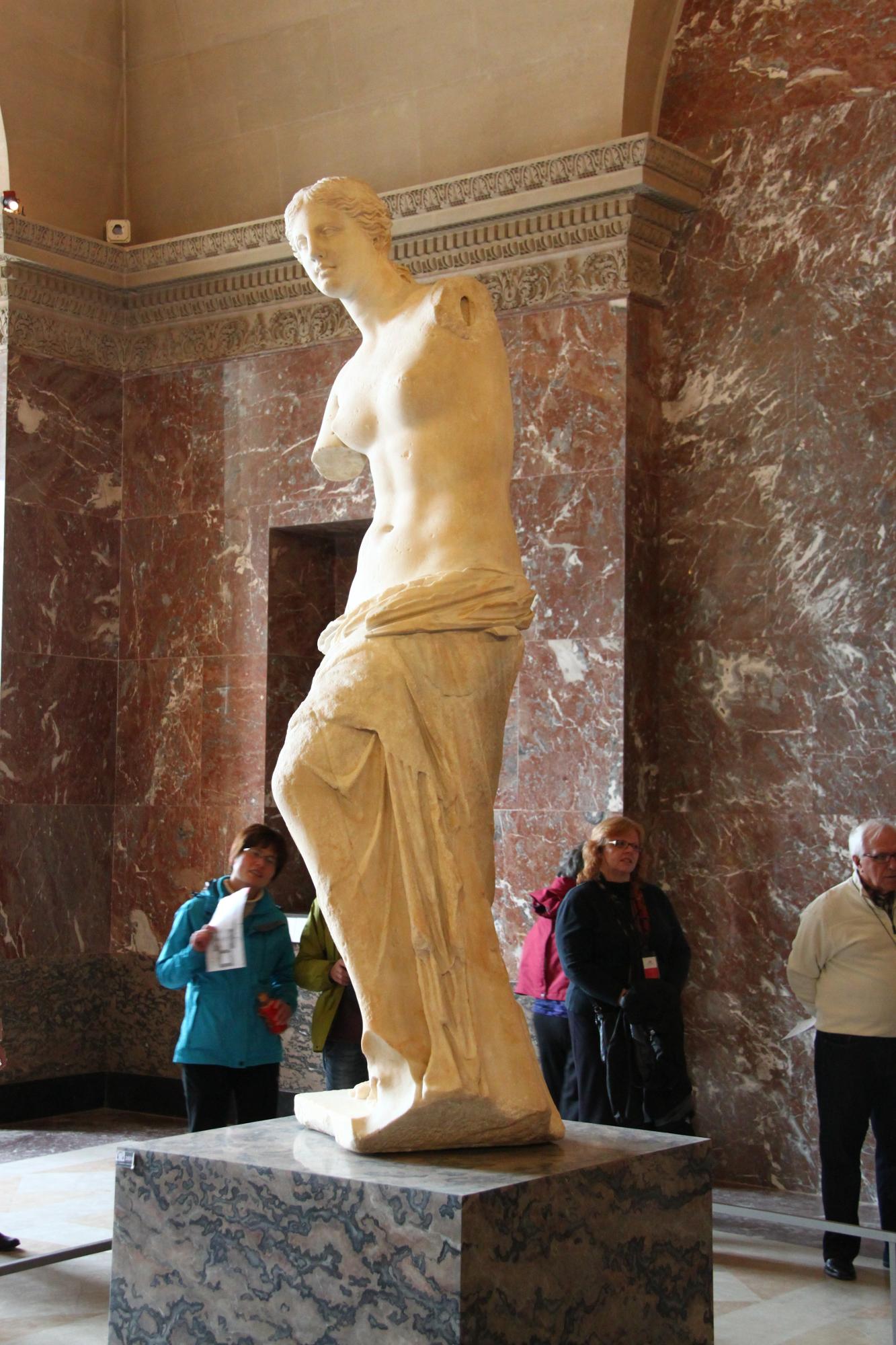 Venus De Milo Louvre Museum Travel Moments In Time
