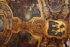Mirror room, Versailles Palace, ceiling