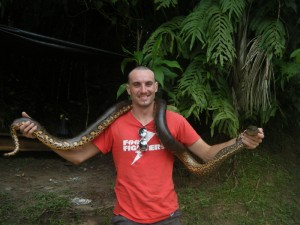 Anaconda in Peru 2