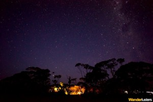 Amazing night sky Nullarbor South Australia