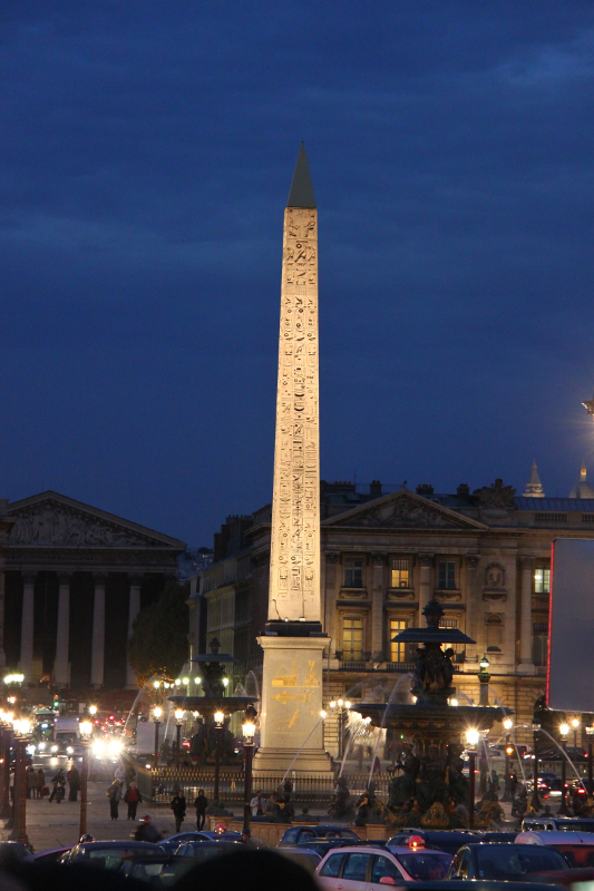 The Luxor Obelisque Obelisk in Paris