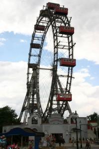 Giant ferris Wheel Prater Vienna
