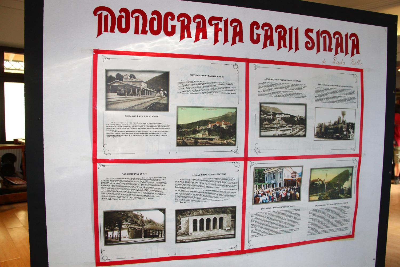 Sinaia Railway Station monography