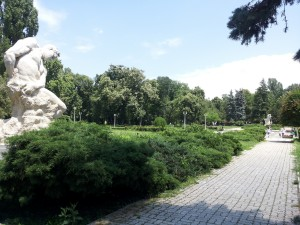 Giants' Statues, Carol Park, Bucharest, Romania