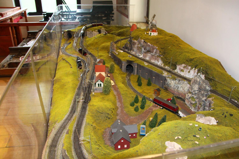 Sinaia model trains exhibition 1