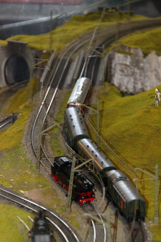 Sinaia model trains exhibition - train diorama