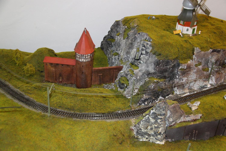 Sinaia model trains exhibition landscape
