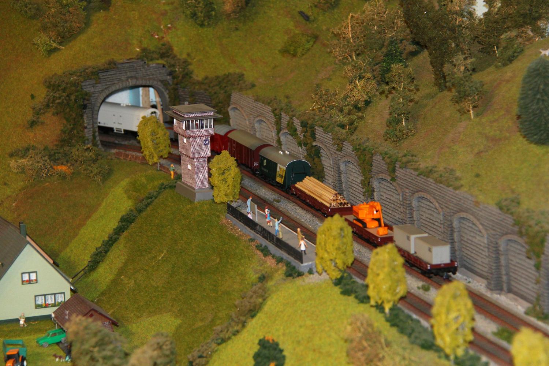 Sinaia model trains diorama