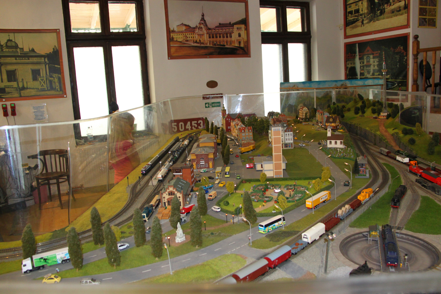 Sinaia model trains exhibition trains