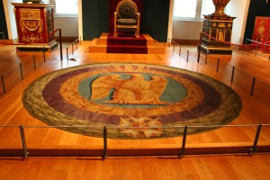 throne room carpet