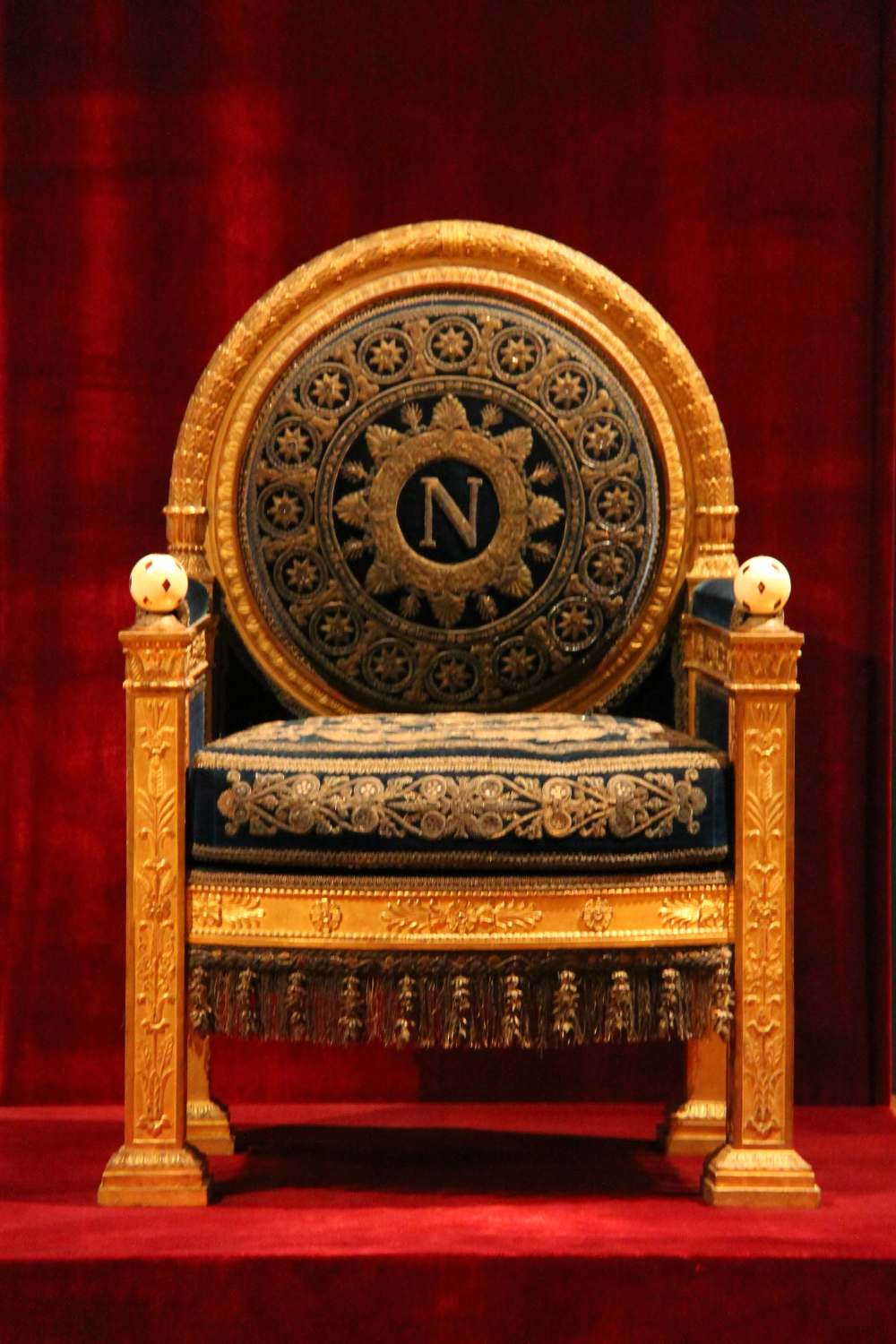 The Throne Of Napoleon And A Medallion Travel Moments In Time