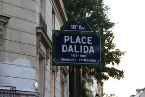 Place Dalida Paris