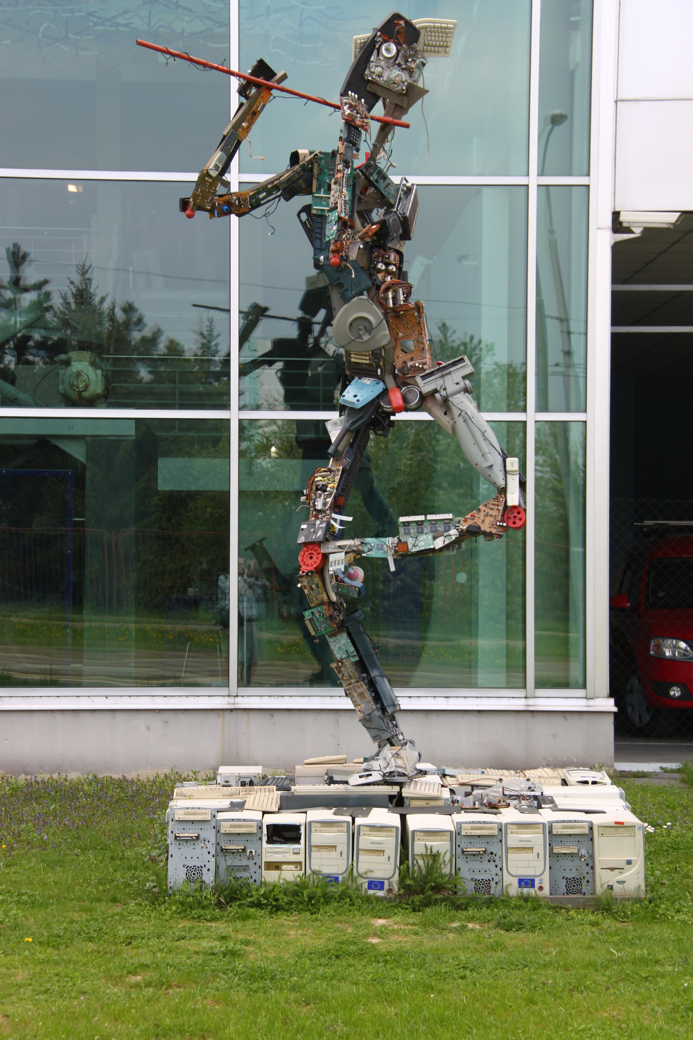 Robot, The Technical Museum in Brno