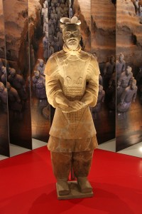 Terra cota Soldier - from the Terracota Army