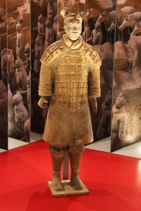 Terra cota warrior from the Terracota Army
