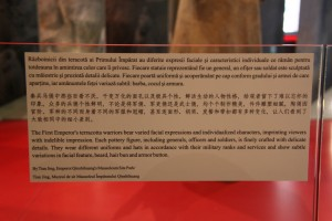 Terra cota warrior from the Terracota Army explanation