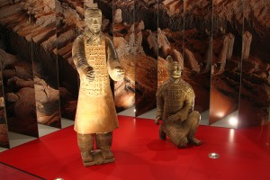 Terra cota soldiers from the Terracota Army