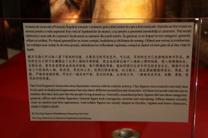 Terra cota soldiers from the Terracota Army explanation explanation