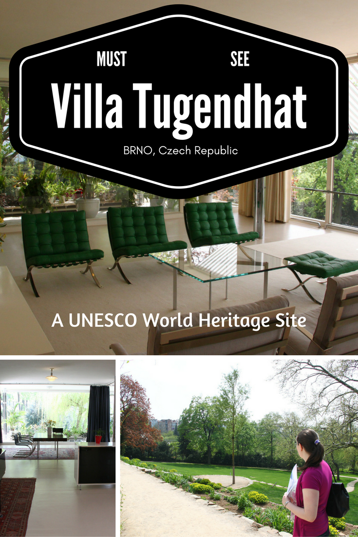 Villa Tugendhat in Brno, Czech Republic, a UNESCO World Heritage Site