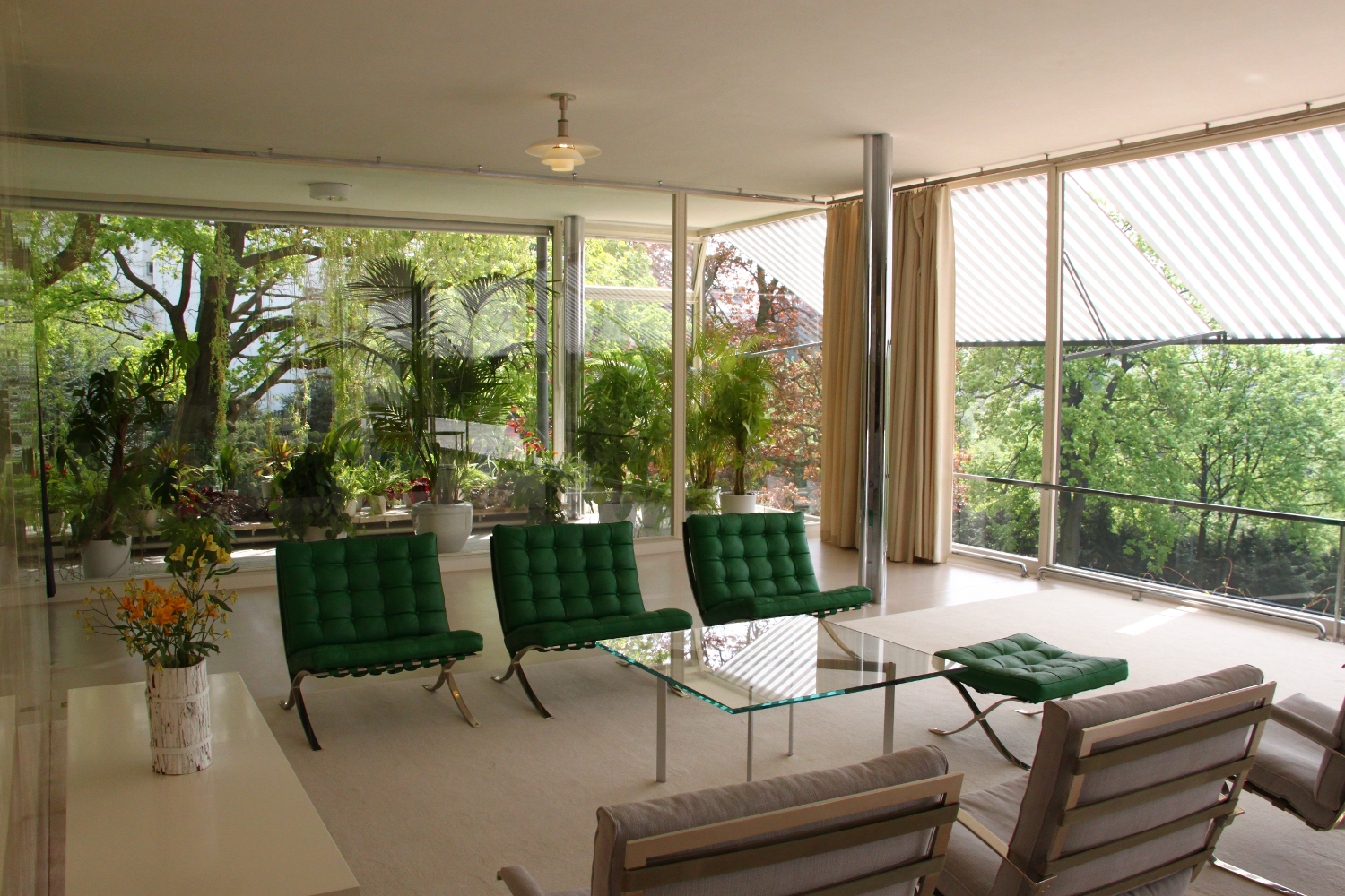 Villa tugendhat living room villa tugendhat living room to the