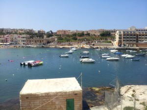 Speed boats in Malta