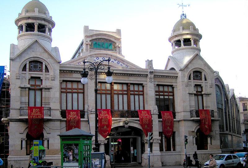 Central market Valencia
