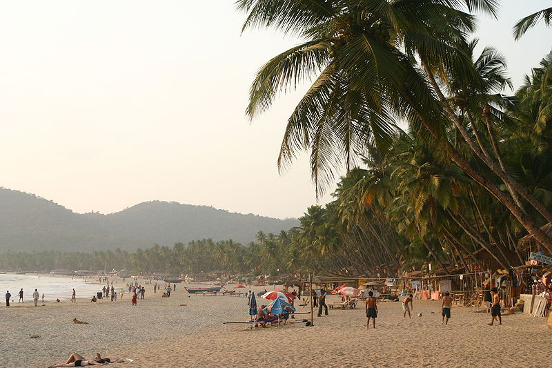 Palolem Beach India - free photo on Wikipedia