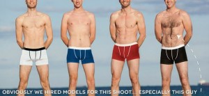 Adventure underwear - travel underwear with waterproof pockets funny ad