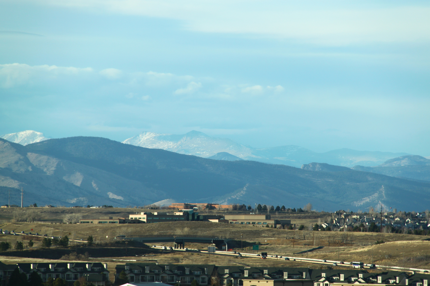 Beautiful view of Colorado's mountains 2