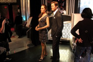Brad Pitt and Angelina Jolie at Madame Tussauds in Las Vegas