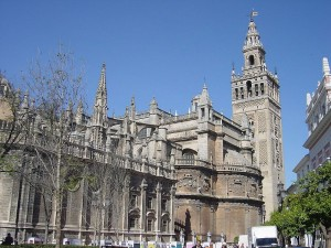 Cathedral - Seville - photo by jeny on Wikipedia