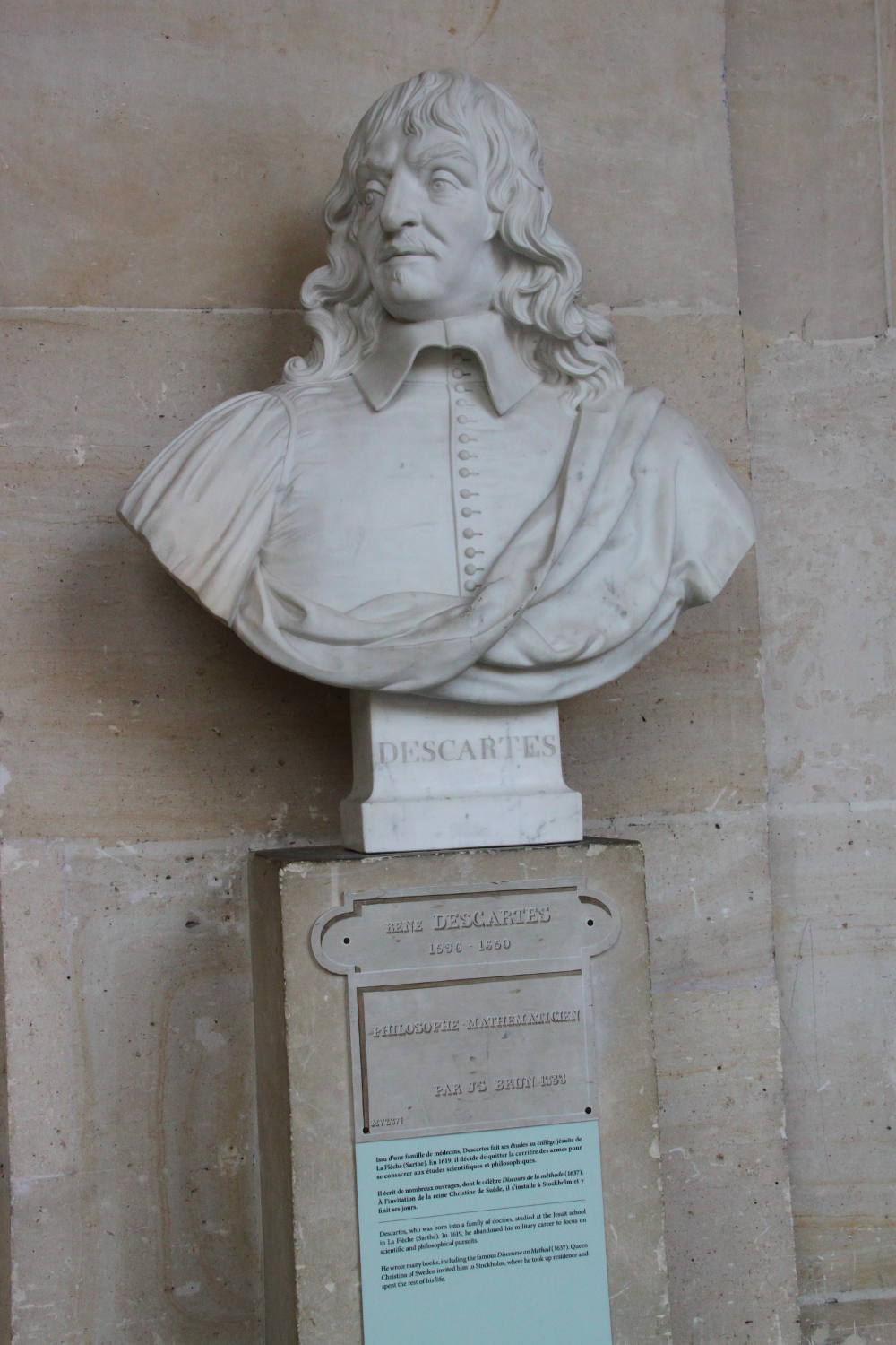 Palace of Versailles Descartes