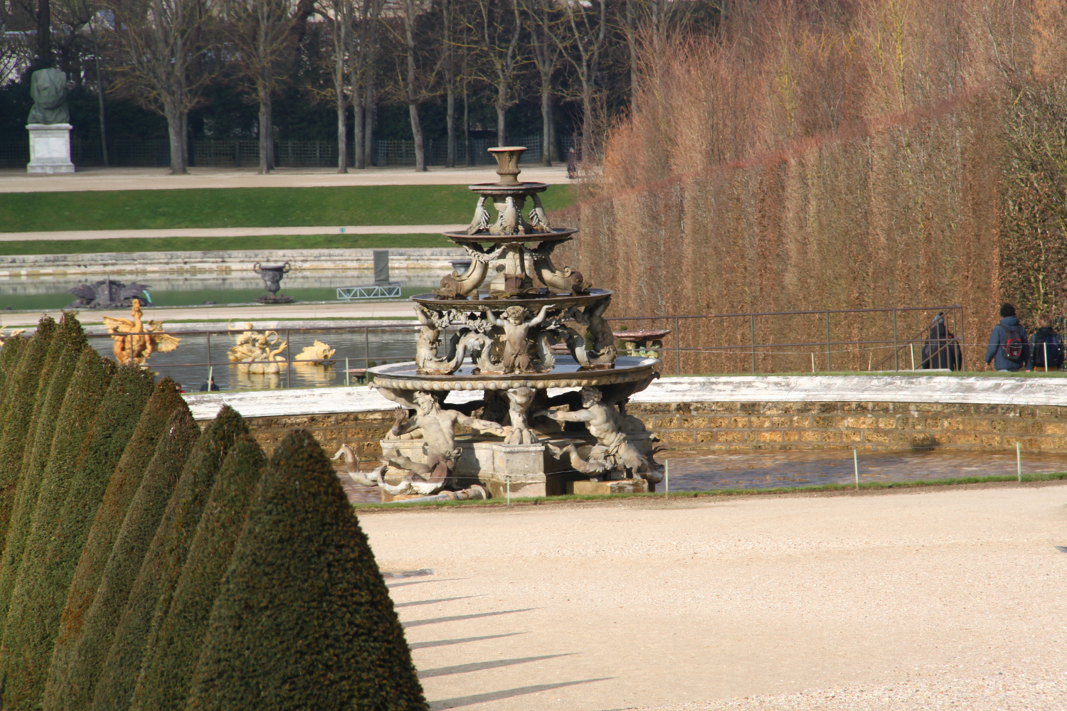 Palace of Versailles Gardens - fountain