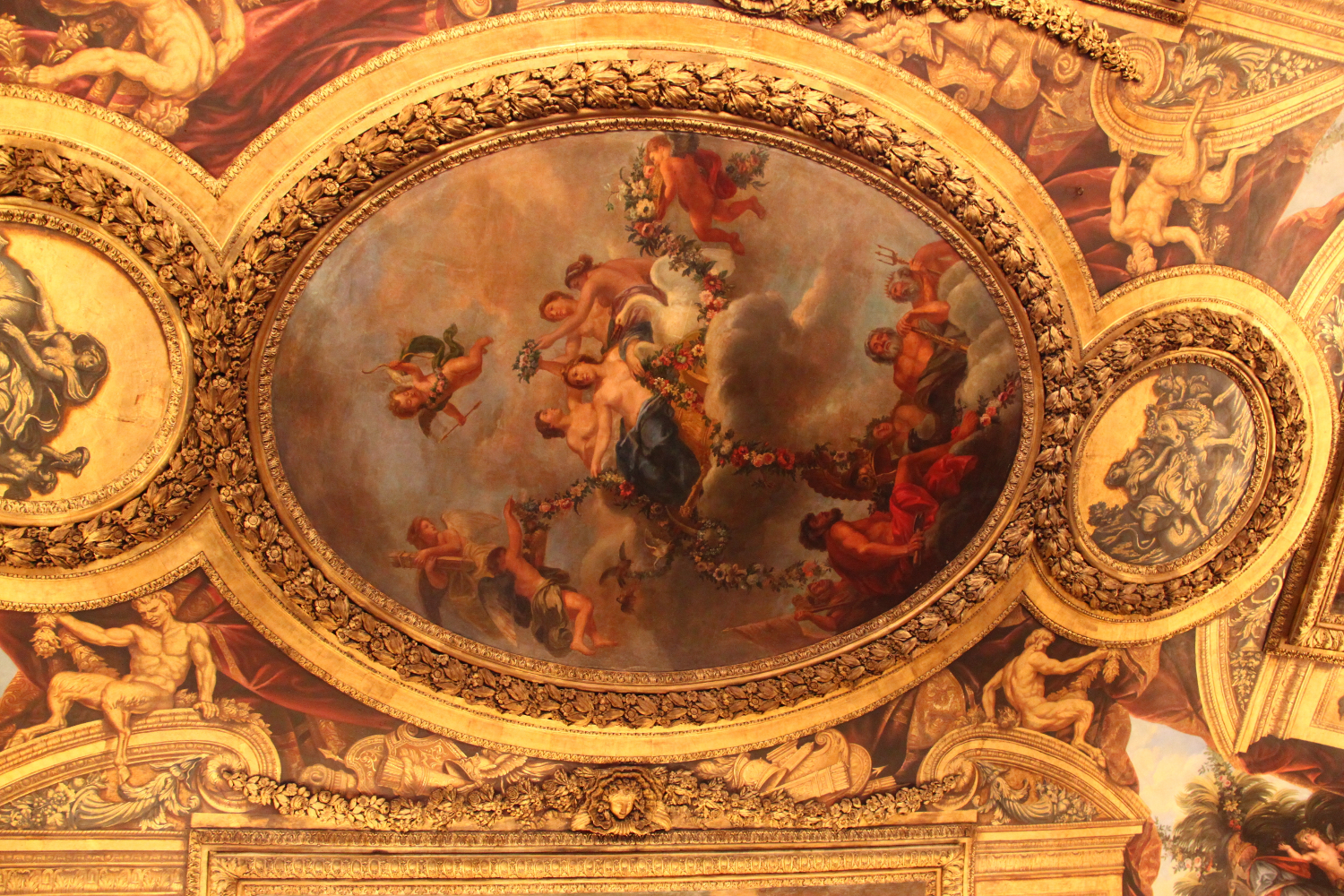Palace of Versailles painting