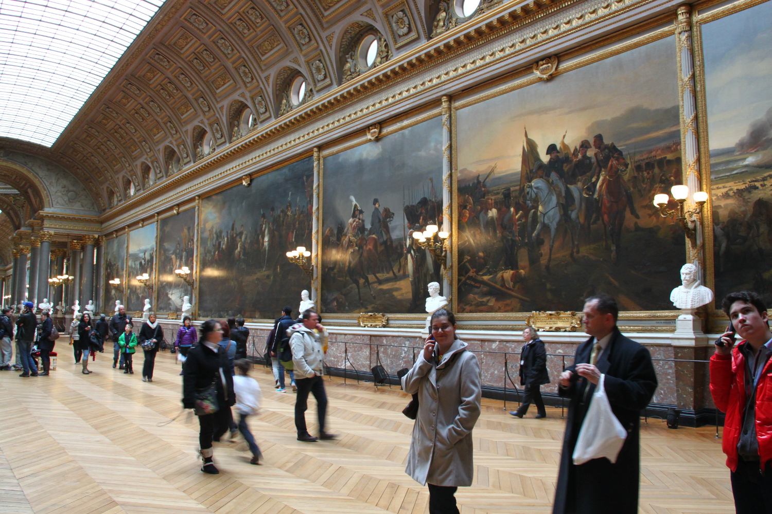 Palace of Versailles ornament paintings
