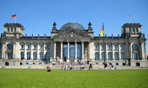 The Bundestag, Berlin, Germany, photo from Wikipedia