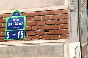 Paucescu's House, Bucharest, bullet marks