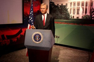 George Bush, Madame Tussauds Las Vegas