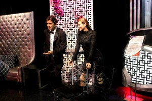 George Clooney, Sandra Bullock, Madame Tussauds, Las Vegas