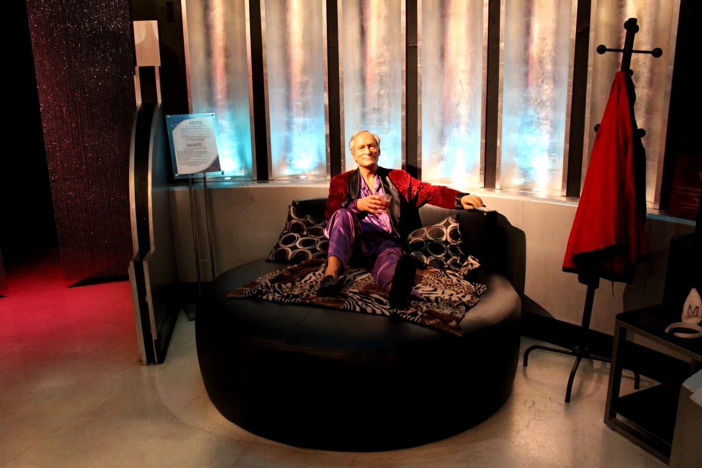 Hugh HeffnerMadame Tussauds Las Vegas