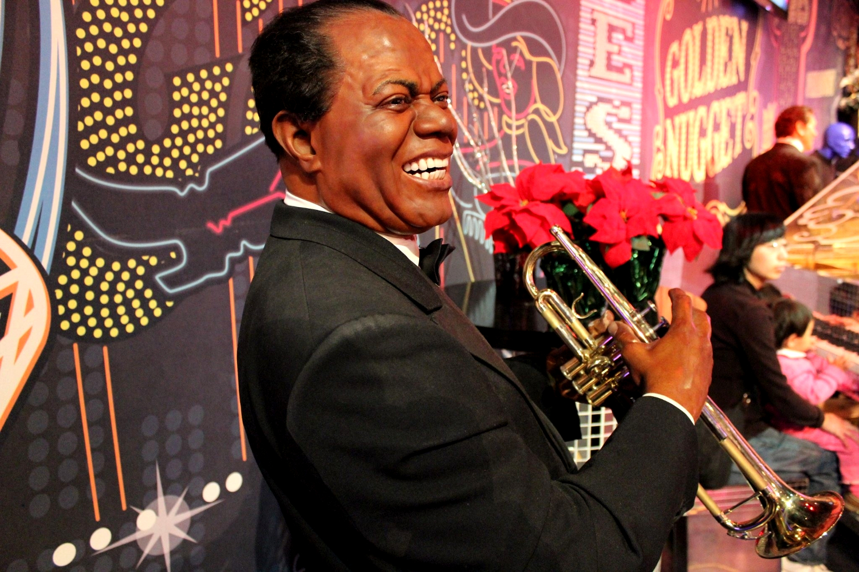 Louis Armstrong, Madame Tussauds Las Vegas_Las_Vegas