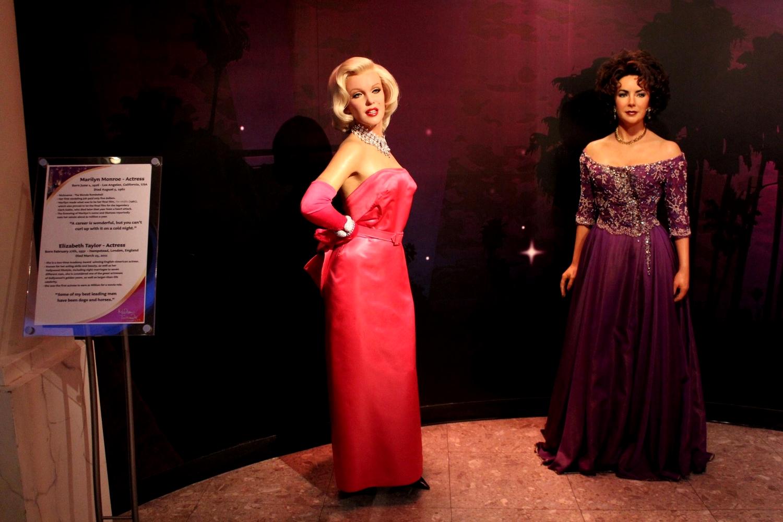 Marilyn Monroe, Elizabeth Taylor, Madame Tussauds, Las Vegas