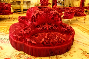 Chairs in the Napoleon Bonaparte's apartment, The Louvrelouvre