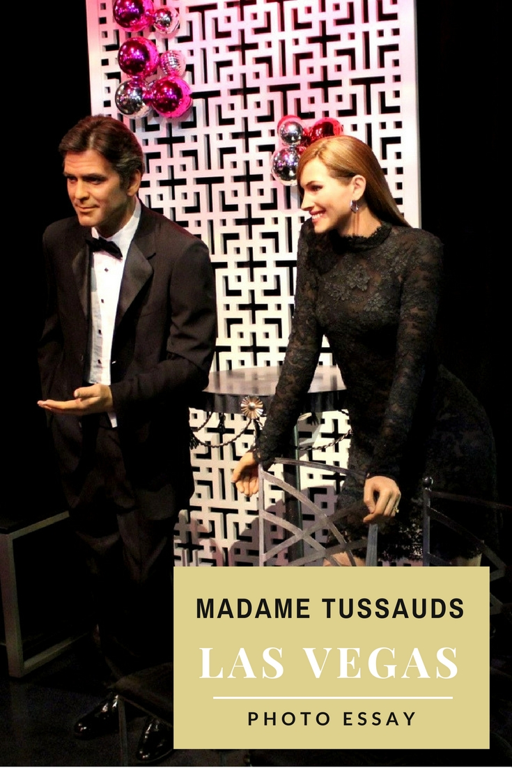 Madame Tussauds, Las Vegas, USA - photos of famous personalities (actors, politicians, etc.) and interesting information included in this travel article