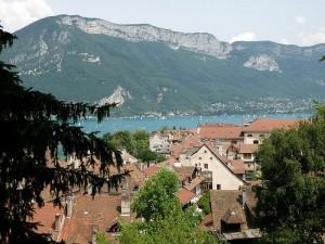 Annecy Vue générale - public domain photo