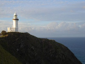 Byron Bay lighthouse - photo by Judith Tepper on Wikipedia
